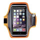 Cinta de Brazo Gear Beast Deluxe para deportes como ciclismo,correr, trotar o caminar para iPhone 6 Plus y samsung Note 5