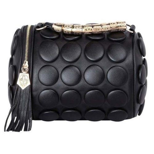 Unsure Party Solid Button PU Leather Straightforwardly Bags Cross-body Women Handbags