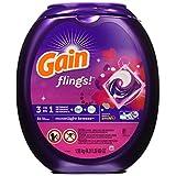 Gain Flings Moonlight Breeze Laundry Detergent Packs, 81 Count