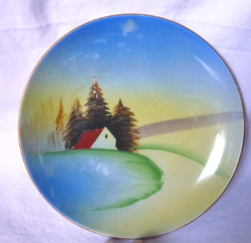 Vintage MEITO CHINA - Hand Painted Japanese 6