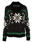 Polo Ralph Lauren Women's Snowflake-Print Turtleneck Sweater Top-B-M