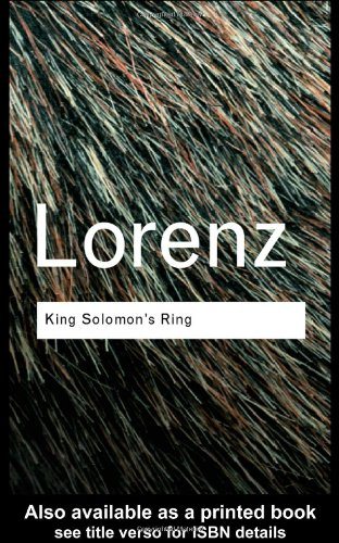 King Solomon's Ring (Routledge Classics)