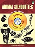 Animal Silhouettes CD-ROM and Book (Dover Electronic Clip Art)