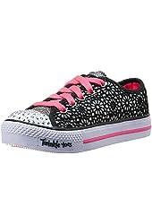 Skechers Kids 10387L Glitter Dayz Light-Up Sneaker  (Little Kid)