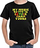 My Music Taste Is Better Than Yours ボーイズTシャツ