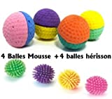 Lot de 4 Balles