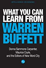 What You Can Learn From Warren Buffett