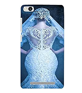PrintVisa Bride Dulhan Wedding Marriage Design 3D Hard Polycarbonate Designer Back Case Cover for Xiaomi Redmi 3S