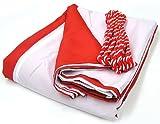 紅白幕 長さ540cm(5.4m/3間)×高さ90cm