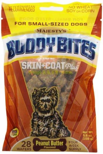 Buddy Bites Skin & Coat Small Dog Skin & Coat - 28 Count Bag