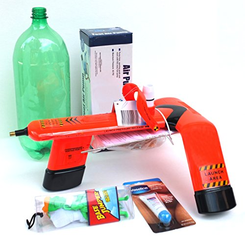Water Bottle Rocket: RocketDudeUSA Water Bottle Rocket Launch Kit, 6-piece