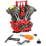 Toys Bhoomi Build Your Own Motorcycle Engine Overhaul Set With Lights & Sound Mechanics Construction Toy Modification...