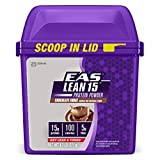 EAS Lean 15 Protein,  Chocolate Fudge, 1.7 Pound