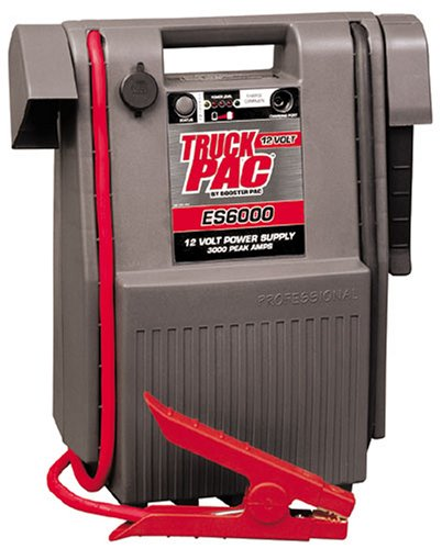 Truck PAC ES6000 3000 Peak Amp 12V Jump Starter (Commercial Jump Box compare prices)