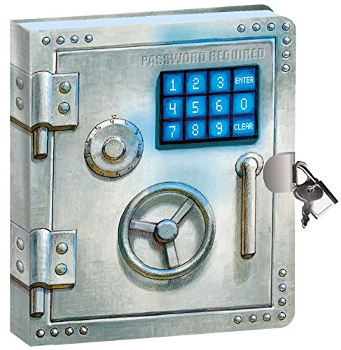 Peaceable Kingdom Vault Door Lock and Key Diary