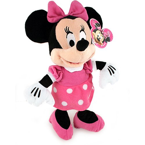 Disney Minnie Mouse Plush Doll - 1