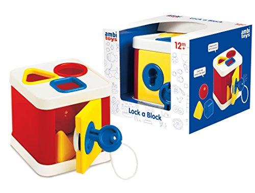 Ambi Toys Lock a Block Toy