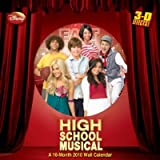 High School Musical -- 3-D 2010 Wall Calendar
