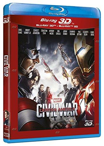Capitán América Civil War (BD 3D+2D) [Blu-ray].