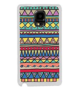 Colourful Aztec Print 2D Hard Polycarbonate Designer Back Case Cover for Samsung Galaxy Note Edge :: Samsung Galaxy Note Edge N915FY N915A N915T N915K/N915L/N915S N915G N915D