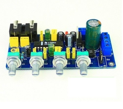 Makerfire® Dc 12V Lm1036N Lm1036 Hifi Stereo Audio Amplifier Bass / Treble / Balance / Volume Control Board Diy Wiki