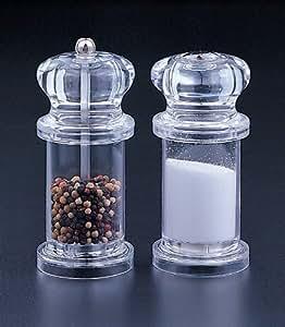 Salt Shaker And Pepper Mill Set Kitchen Dining