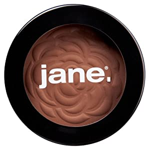 Jane Cosmetics Matte Bronzing Powder, Give, Rich, 0.35 Ounce