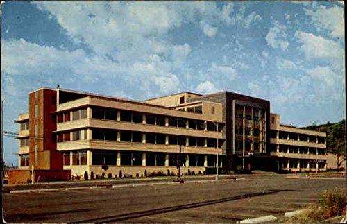 Administration Building, Public Utilities Tacoma, Wa Original Vintage Postcard