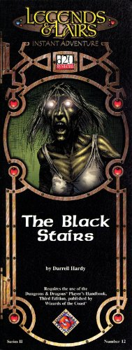 The Black Stairs (Legends & Lairs Instant Adventure, 2)