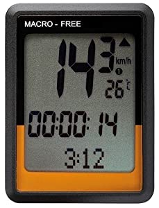 O-Synce MACRO High free Fahrradcomputer kabellos 12 Funkt. Höhenmesser