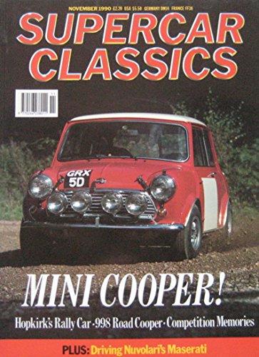 supercar-classics-magazine-11-1990-featuring-mini-cooper-bizzarrini-aston-martinmaserati