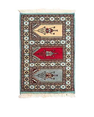 RugSense Alfombra Kashmir Azul/Multicolor
