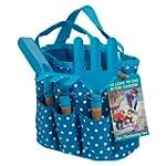 Childrens Gardening Set In Blue Bag