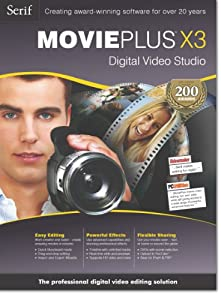 Serif MoviePlus X3  [Download] [OLD VERSION]