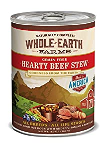Whole Earth Farms Hearty Beef Stew, 12.7-Ounce