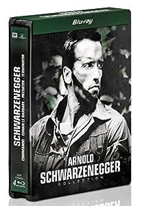 Arnold Schwarzenegger : Conan le barbare + Commando + Predator + Terminator [Édition Limitée boîtier SteelBook]