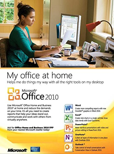 microsoft office home and business 2010 dvd genuine. Black Bedroom Furniture Sets. Home Design Ideas