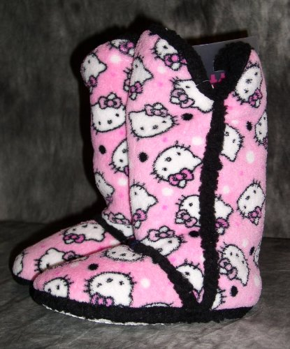 Image of Hello Kitty Slippers, Tall Boot Style (B006R84PGE)