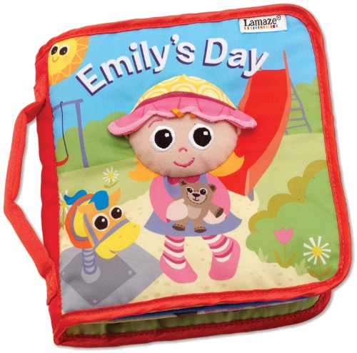 Lamaze Baby Toys Doll Early Development Books Emily's Day Cloth Book - 1