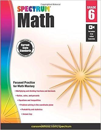 Spectrum Math Workbook, Grade 6 written by Spectrum