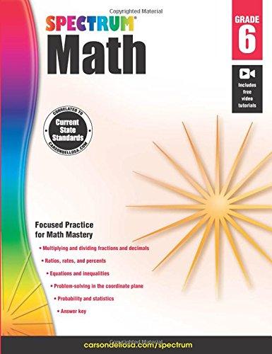Spectrum Math Workbook, Grade 6 (Advantage Math Grade 4 compare prices)