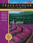 Landscapes: Trace Line Art Onto Paper...