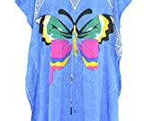 Fashion-Island-Womens-Butterfly-African-Dress-Caftan-Kaftan-Silky-Soft-Unique
