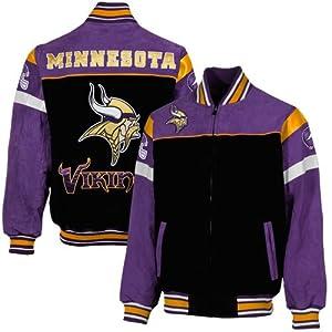 Minnesota Vikings Suede Jackets by NFL