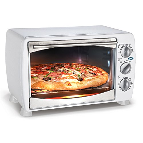 Countertop Toaster Oven and Broiler, Portable Ovens, Home or Commercial, White (Compact Toaster Oven White compare prices)