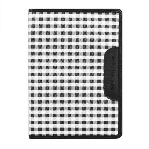 CaseCrown Oxford Zip Case (White/Black)