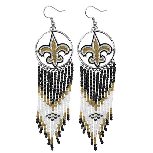NFL New Orleans Saints Dreamcatcher Earring