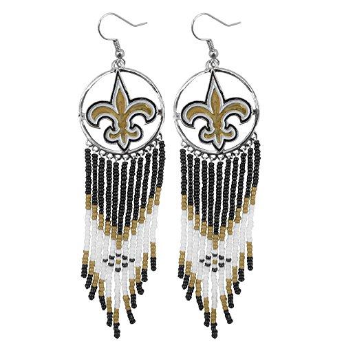 NFL New Orleans Saints Dreamcatcher Earring