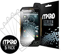 Sonim XP7 Screen Protector, Ultra Clear 5-Pack - MPERO