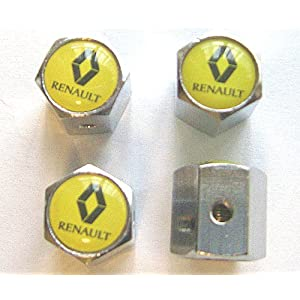 Renault Anti-theft Car Wheel Tire Valve Stem Caps